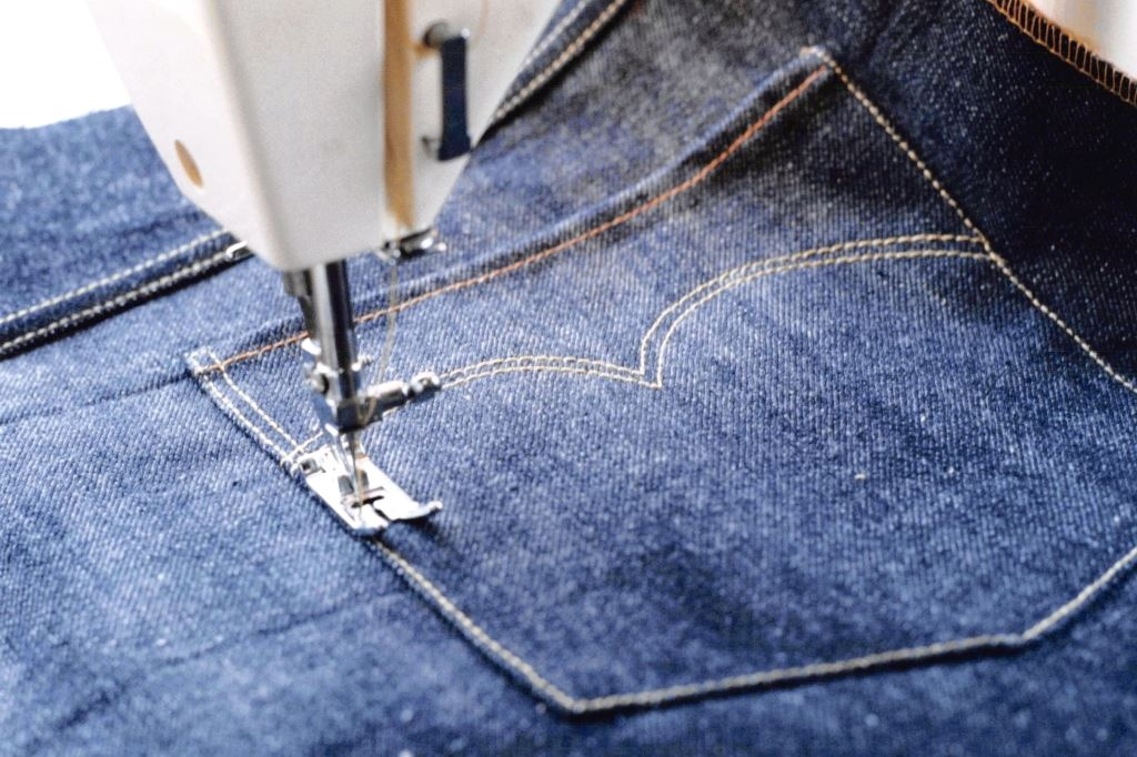 making eureka jeans